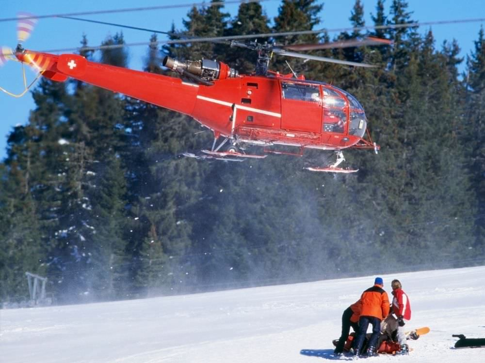 熱門話題 滑雪場上發生意外了,怎麼辦?