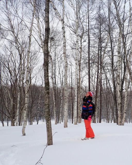 【日本滑雪.安比高原】今天不滑雪,穿上大腳雪鞋健行去!