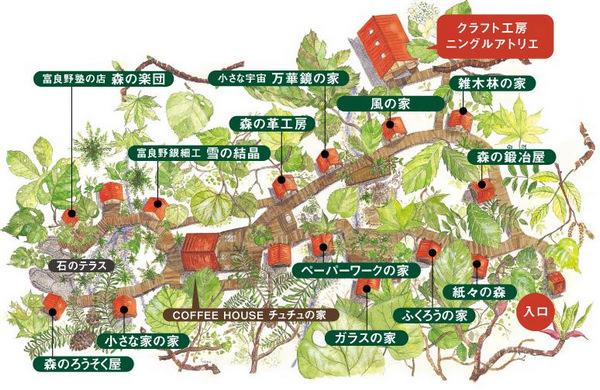 【北海道.富良野景點】不思議!富良野森林中的森林精靈陽台、森之時計咖啡