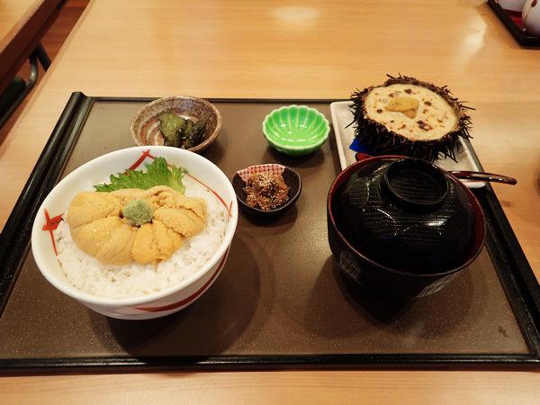 【函館美食】海膽全餐來了! うにむらかみ海膽專門餐廳(函館朝市內)
