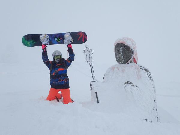 藏王溫泉滑雪看樹冰 一生一定要看一次的奇景