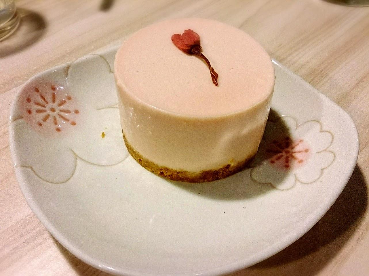 Machikaka WACAFÉ 抹茶控也瘋狂的甜點天堂-櫻花乳酪蛋糕