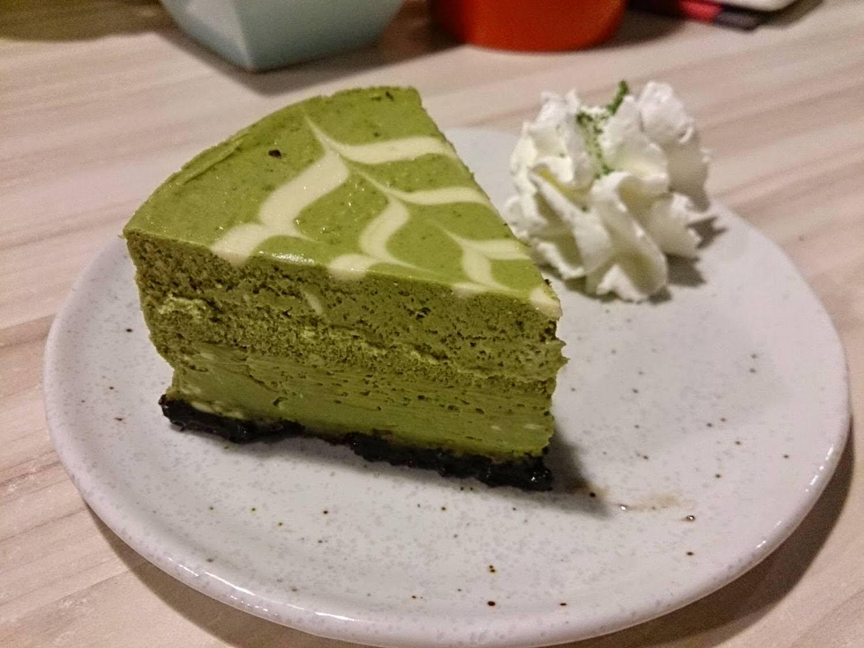 Machikaka WACAFÉ 抹茶控也瘋狂的甜點天堂-抹茶重乳酪蛋糕
