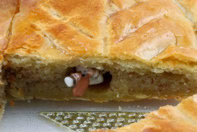 法國新年甜點-自家烘焙的國王派