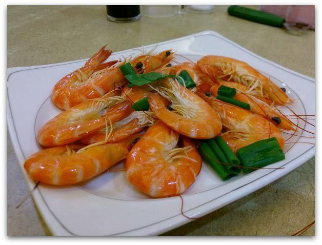 萬里-漁家鄉海鮮餐廳-白灼沙蝦