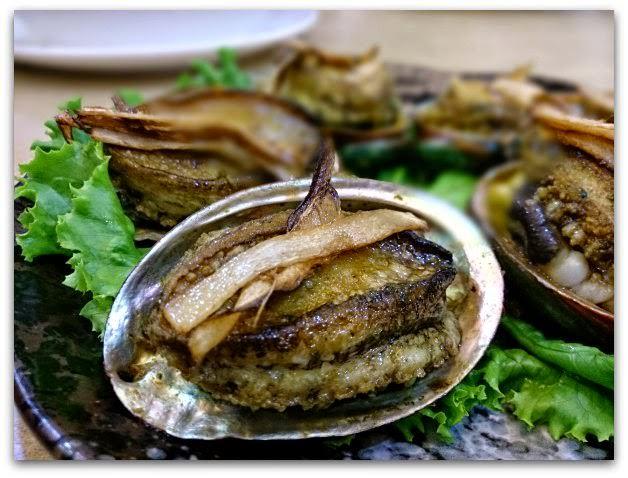 萬里-漁家鄉海鮮餐廳-乾煎麻油鮑魚