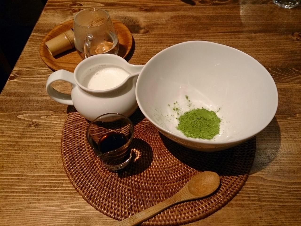 杏桃鬆餅屋-靜岡卦川抹茶拿鐵