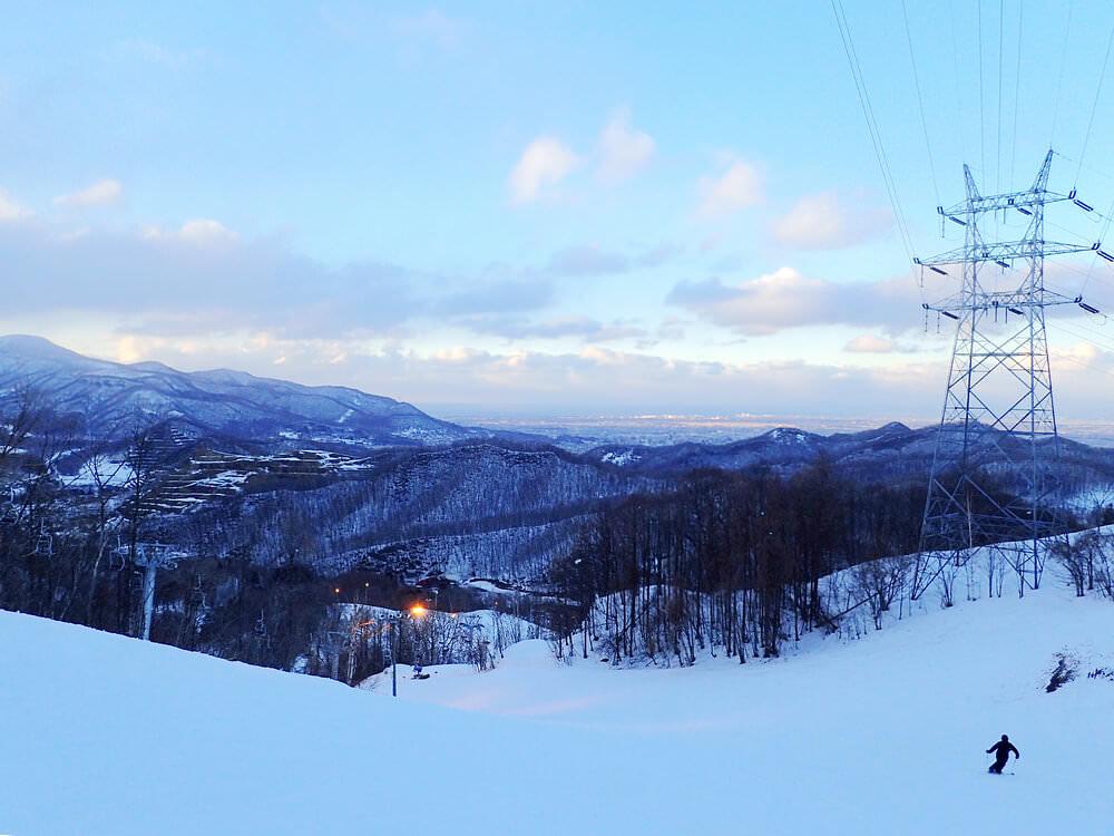 [北海道滑雪]札幌盤溪滑雪場市區出發只要30分鐘,夜景無敵美!