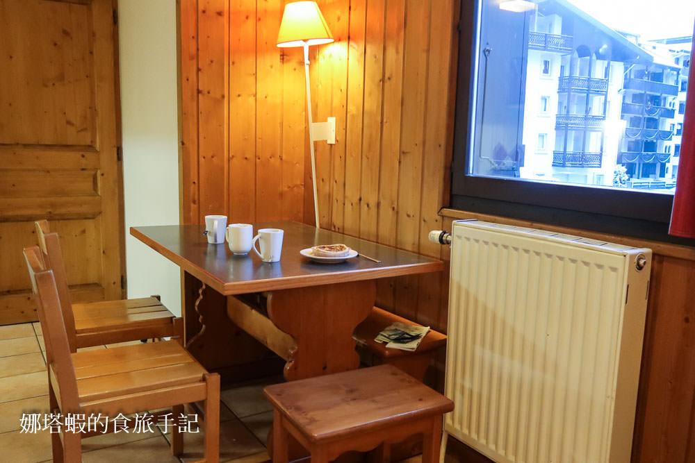 法國夏慕尼住宿推薦︱地點超好的瑪伊瓦利維耶爾公寓飯店