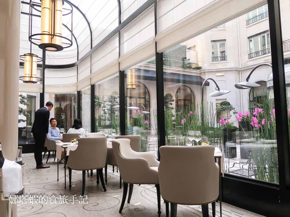 巴黎米其林一星餐廳 四季飯店L'orangerie橘園餐廳