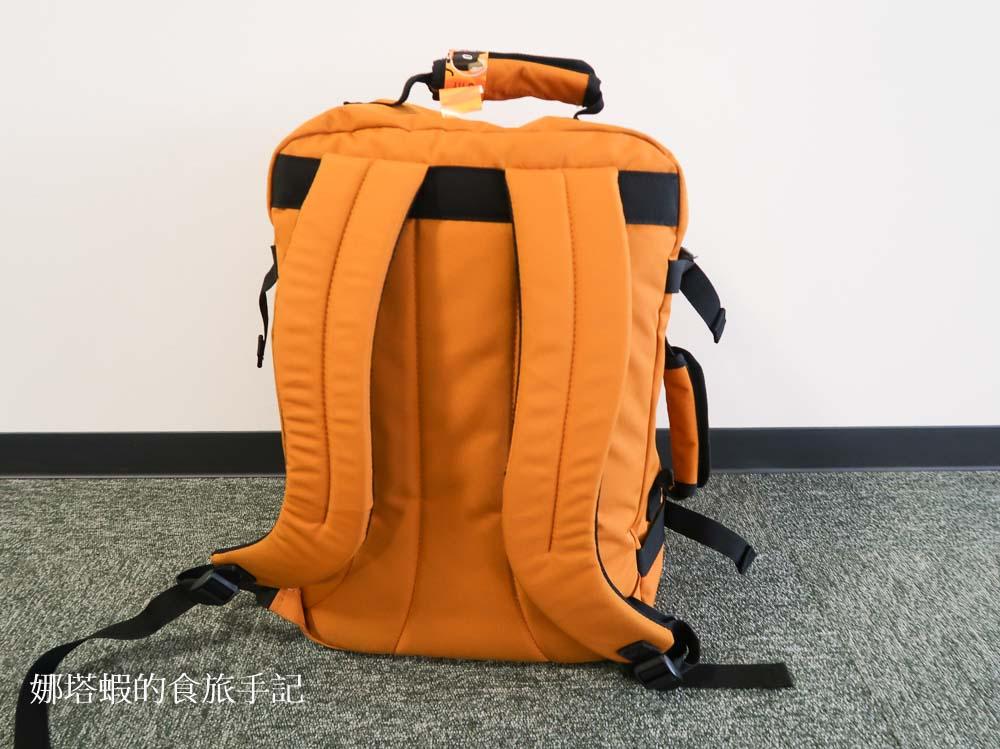超好裝的CabinZero英國輕旅登機後背包,一個背包抵一卡登機箱!