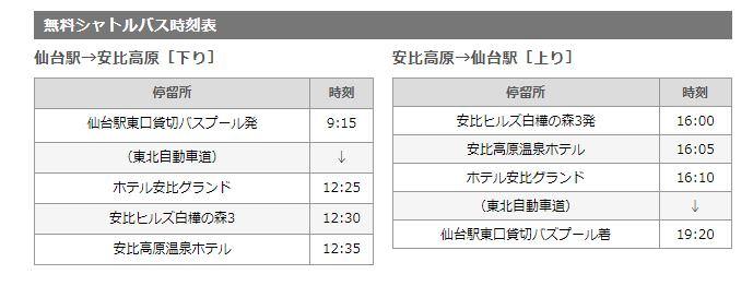 日本滑雪自由行 安比高原滑雪場交通詳解
