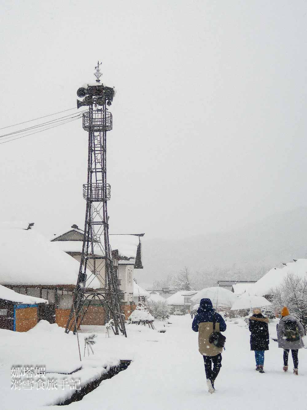 福島︱冬季大內宿絕美雪景,日本三大茅草屋之一