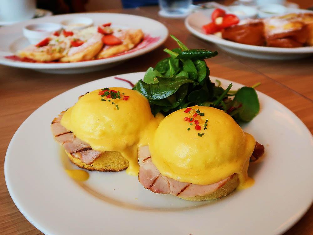 東京女子旅|東京車站早午餐| Sarabeth's 紐約早餐女王,招牌班尼迪克蛋的美味秘密