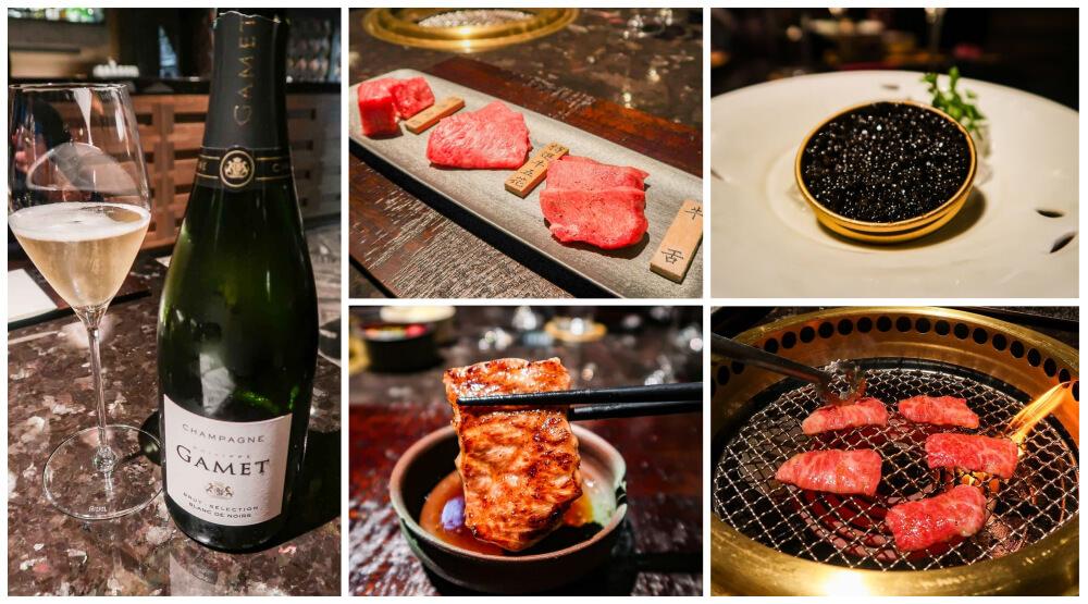 味蕾爆炸!嶄新和牛燒肉懷石「和牛47」:香檳、魚子醬、頂級和牛的極致體驗