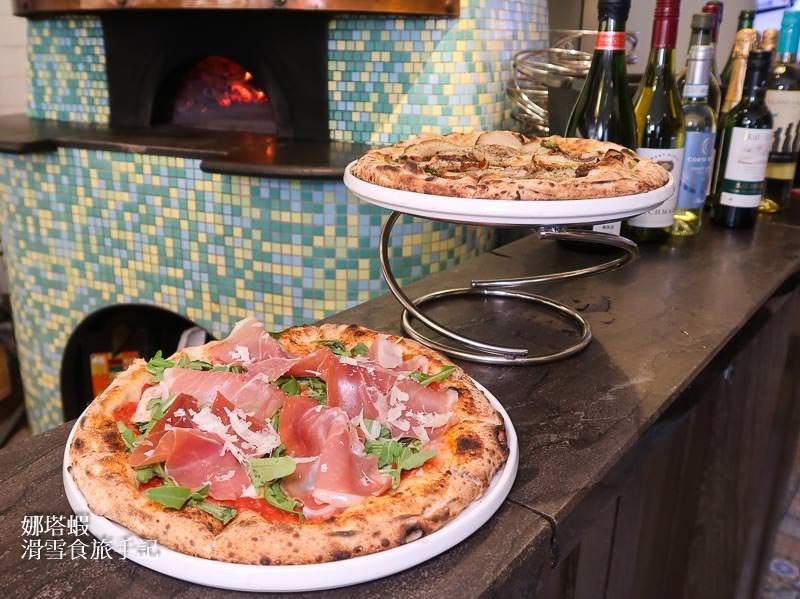 台北手工披薩|BANCO窯烤PIZZA&輕鬆易引的葡萄酒餐酒搭配
