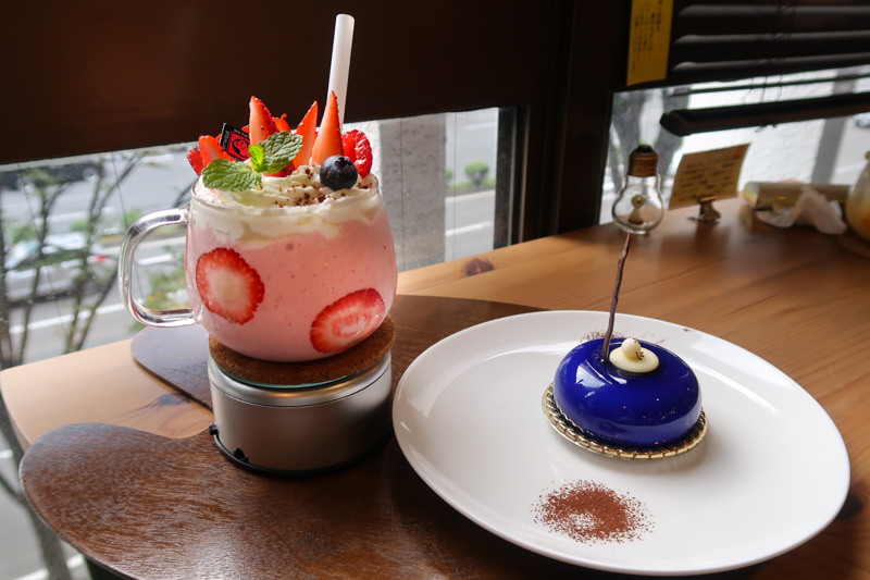 仙台美食|IG打卡夯點、夢幻系甜點咖啡Cafe MythiQue