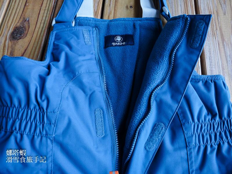 小孩滑雪玩雪這樣穿!德國JAKO-O 兒童雪衣雪褲穿搭介紹