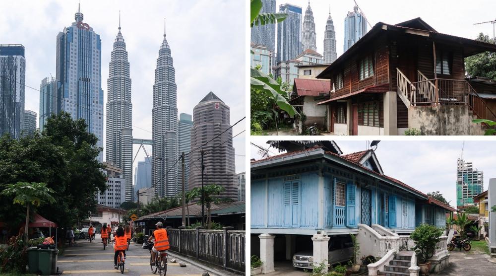 貼近在地生活的吉隆坡單車行:暢遊馬來村、逛傳統市場