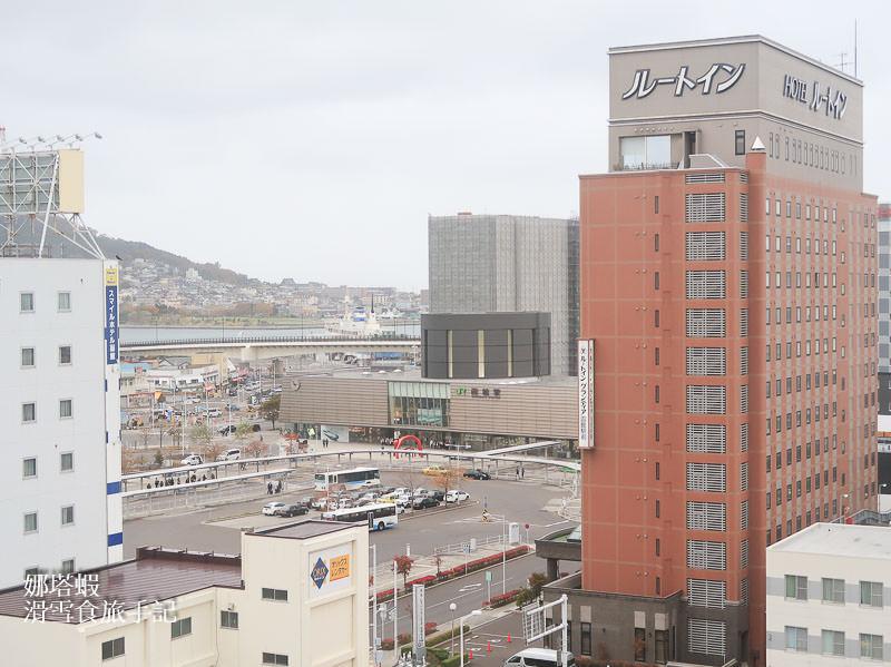 函館住宿|函館WBF海神溫泉飯店,2019新開幕、車站步行5分鐘、近Aeon超市