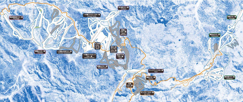 日本最大滑雪區域:志賀高原滑雪攻略,交通住宿美食詳細介紹