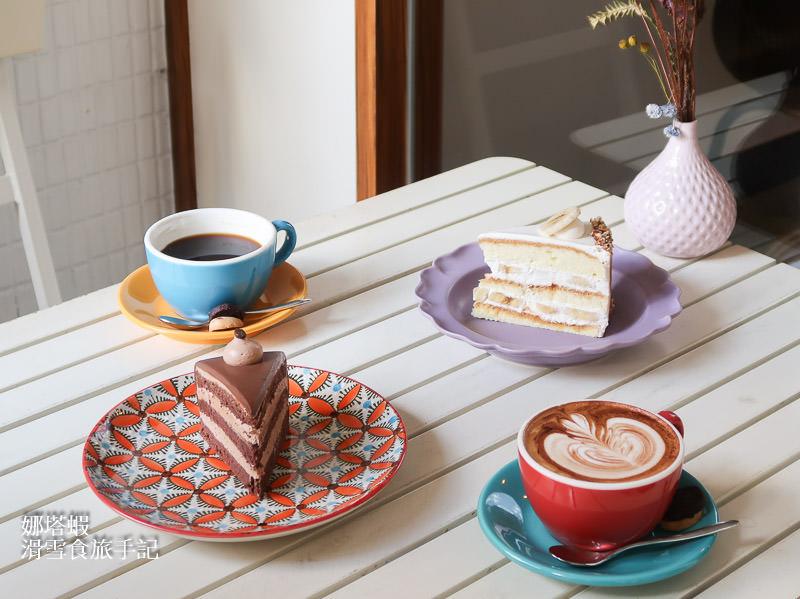 永和咖啡甜點|大人的甜點|嘗一口微醺的威士忌巧克力蛋糕