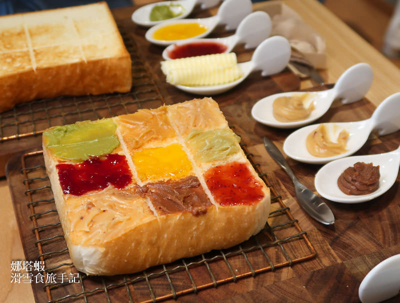 日本嵜SAKImoto bakery 兩款吐司&15種果醬選擇攻略、隱藏版吃法