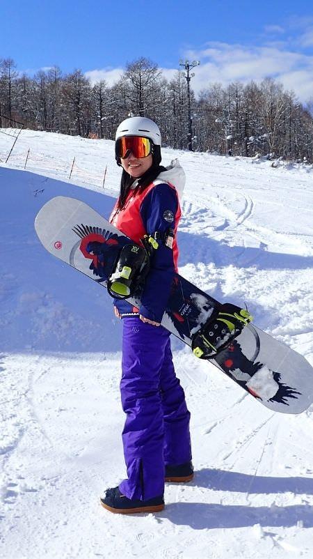 滑雪旅遊作家 娜塔蝦