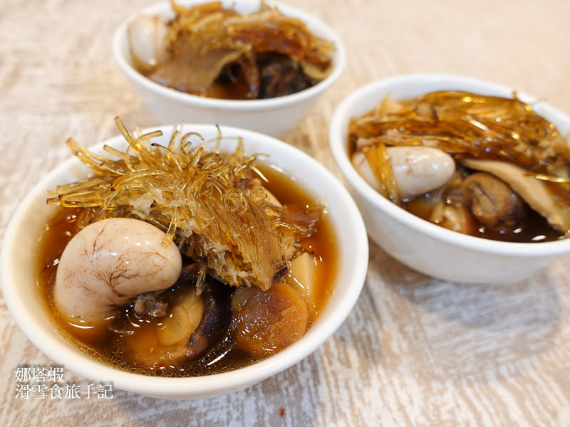 台北米其林一星的台菜滋味-明福台菜海產餐廳、萬元巨無霸佛跳牆
