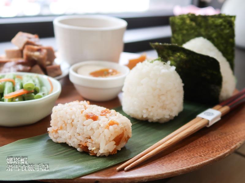 米販咖啡 不一樣的台北早午餐 日式VS中式飯糰,你選哪一道?
