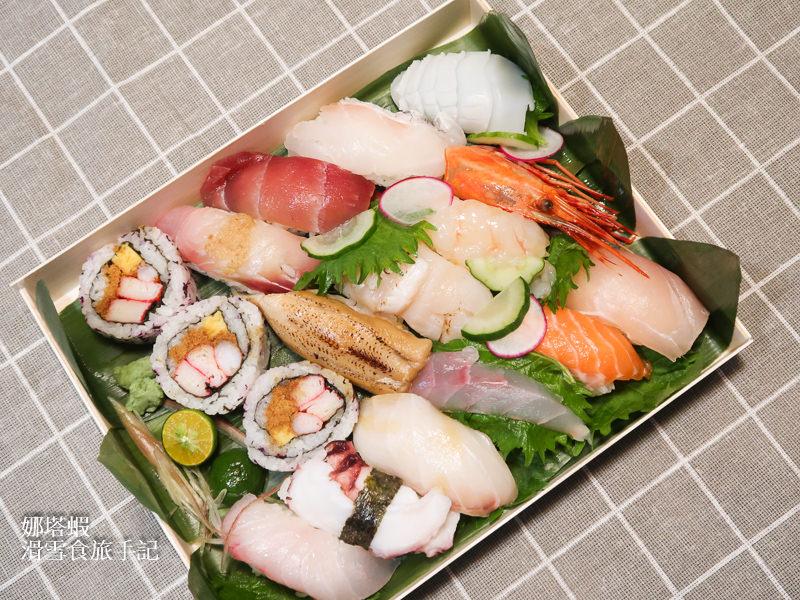晶華酒店外帶便當:握壽司餐盒、龍蝦義大利麵